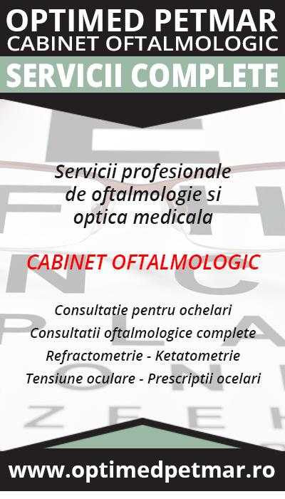 Cabinet Oftalmologic Mioveni- Optica Medicala Mioveni- OPTIMED PETMAR